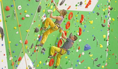 Foto zum Widget Kletterhalle
