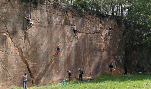 Artikelbild zu Artikel Klettergärten des SBB