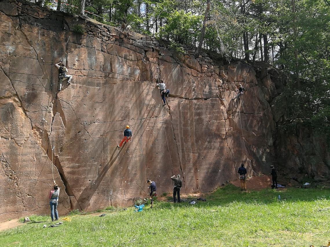 Der Klettergarten Rochlitz